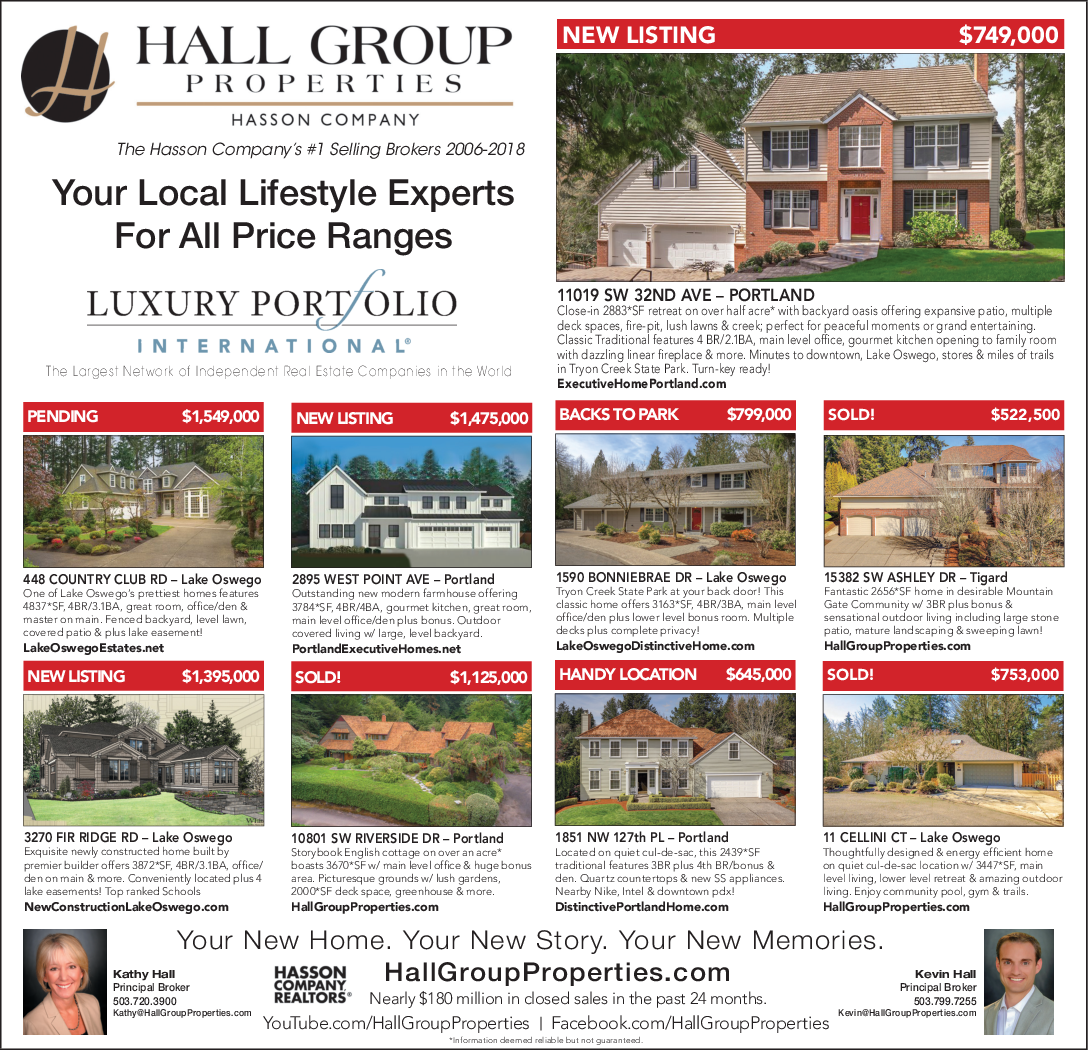 Local Lifestyle Experts in Lake Oswego, OR, Real Estate